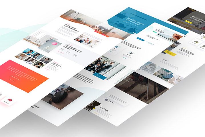 始架設出一個專業又有質感的網站
